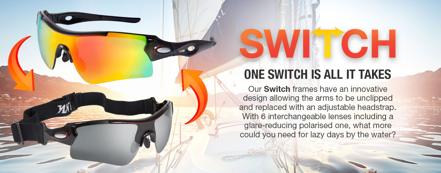 Optilabs Switch frames with 6 interchangeable shields