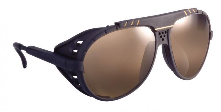 Blackbird frames with brown lenses