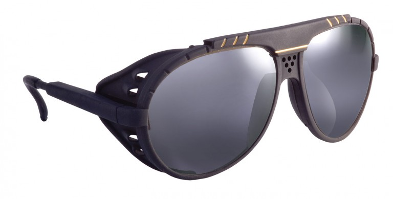 Blackbird frames with grey lenses