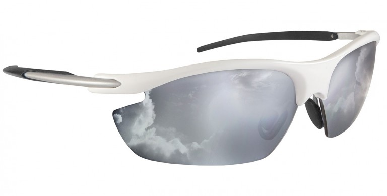Black Swift frames with interchangeable shields and prescription insert