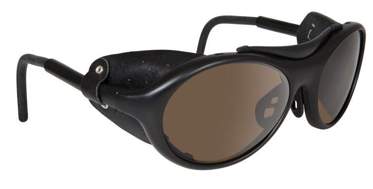 Black Jet frames with brown lenses