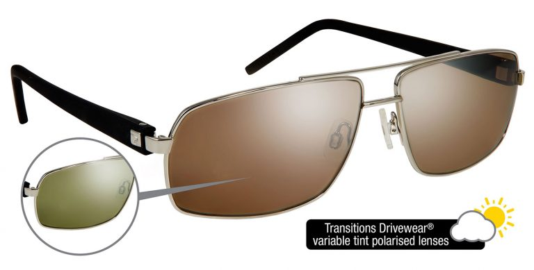 Vista frames with Transitions Drivewear® lenses