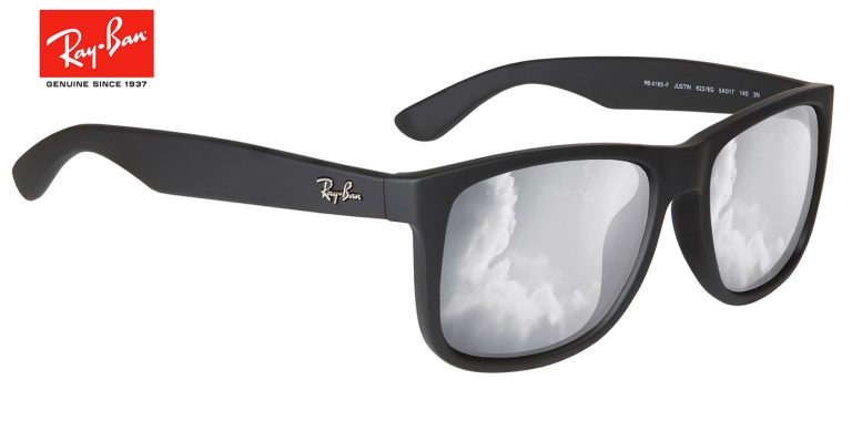 3ec1b535d50 Ray-Ban Justin Prescription Lenses. Matt black. Description  Lens Options